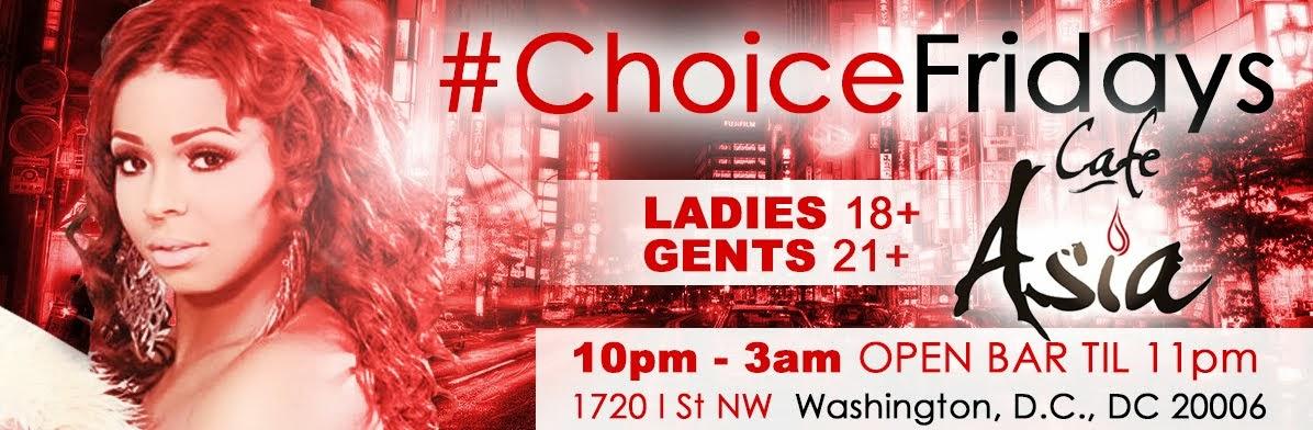#ChoiceFridays @CafeAsia