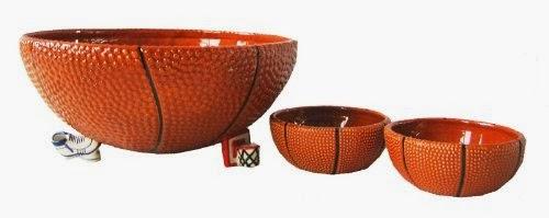 Basketball Bowl Set