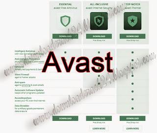 Avast Antivirus 2015 Serial Key Crack Free Download