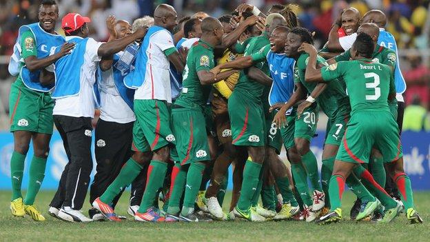 Burkina Faso makes history