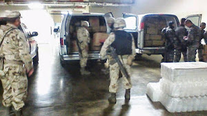 Mexican army burns 55 tons of drugs in last 7 days