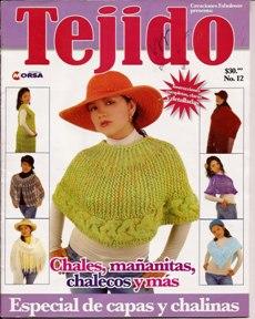 Tejido №12 2010 Especial de Capas y Chalinas