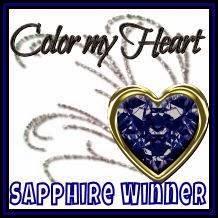 Color My Heart Sapphire Award