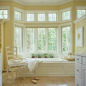 A room full of sunshine inspirations french country cottage for French cottage bathroom design