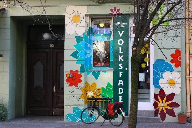 Volksfaden Berlin fachada