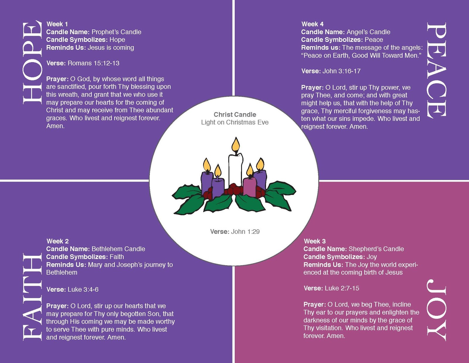 practically living advent wreath tradition with reflection and