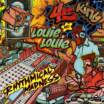 45 King & Louie Louie ‎– Rhythmical Madness (1989) (Vinyl) (320 kbps)