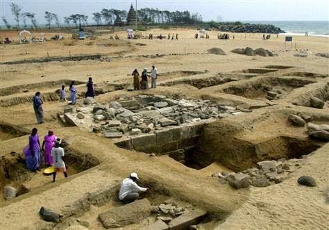 """Tsunami Dahsyat 2004 Mengungkap Misteri """"Seven Pagodas"""" yang Telah Lama Hilang"""