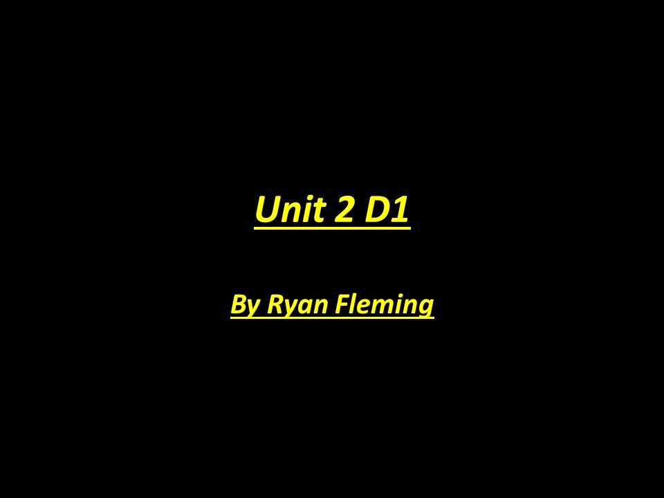 unit 6 d1
