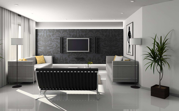 Comfortable Living Room Style With Modern Furniture