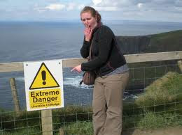 Danger Cliffs of moher ireland princess bride