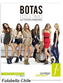 catalogo botas falabella OI 2013