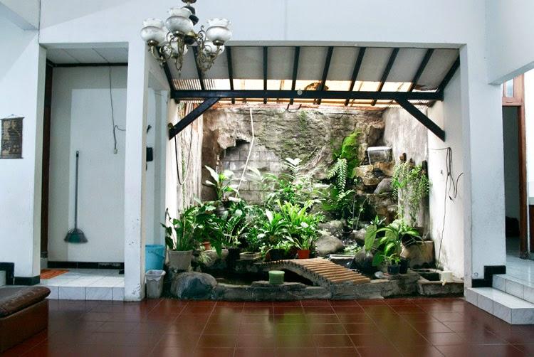 Desain Model Taman dalam Rumah Minimalis