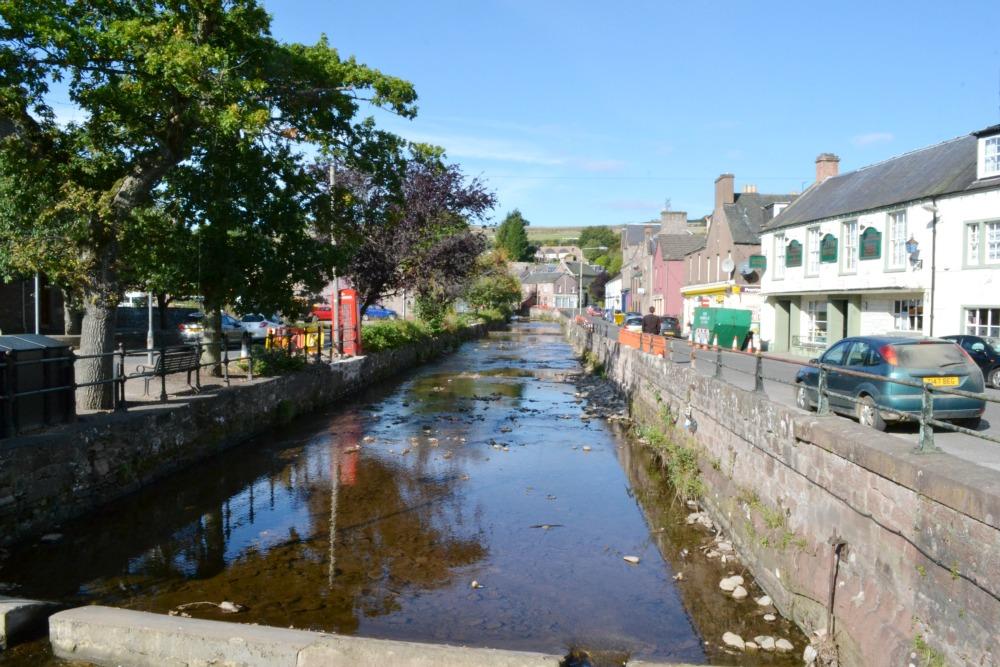alyth river town