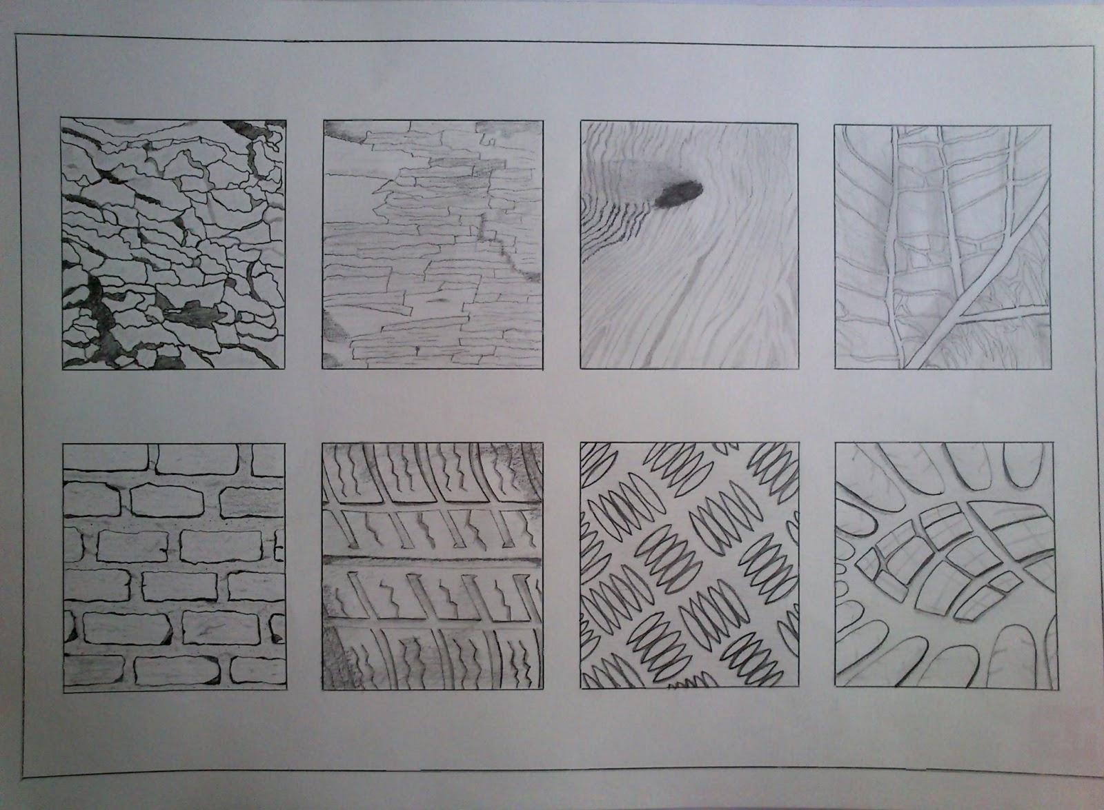 El arte de representar texturas naturales artificiales for Arquitectura tecnica ua