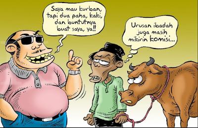 DP BBM Idul Adha Lucu Keren