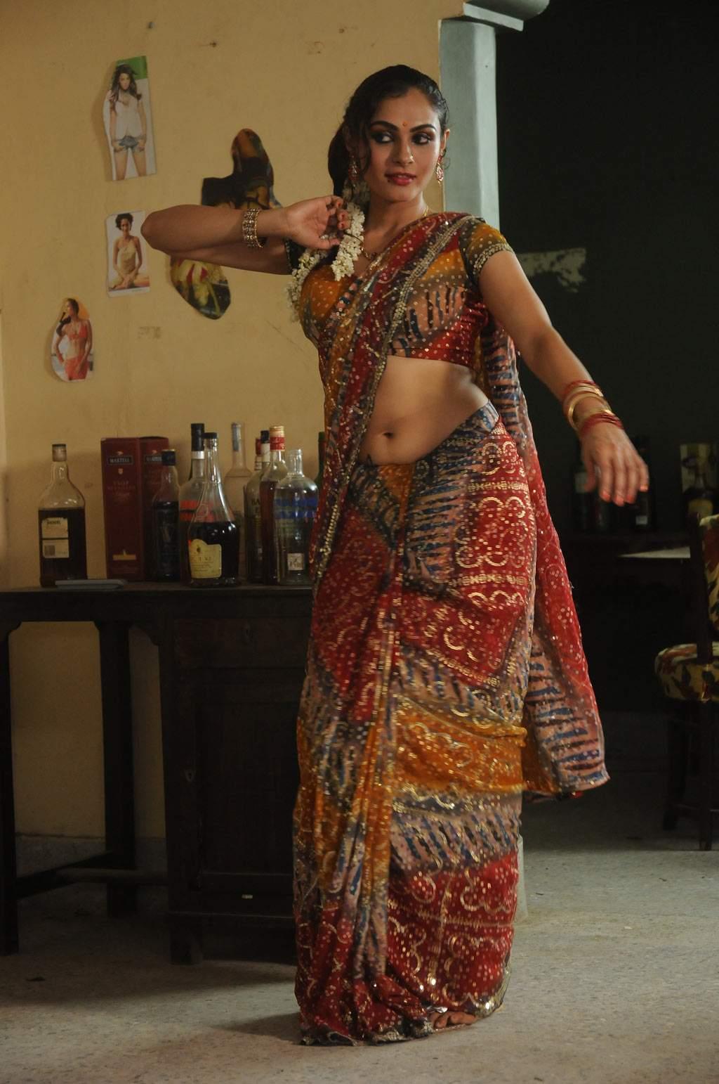 actress hot saree pic
