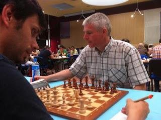 Ronde 5 : Philippe Brochet a annulé contre Glenn Flear