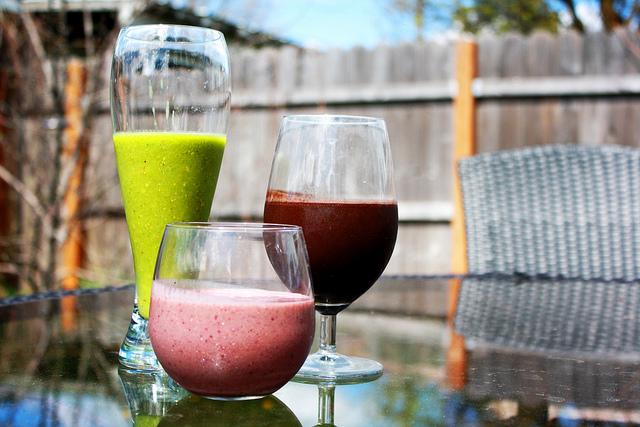 Four Healthy Smoothie Recipes