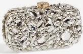 Natasha couture crystal clutch, clutch purse with rhinestones, crystal handbag, rhinestone designer clutch, holiday clutch for party, Christmas crystal purse 2014
