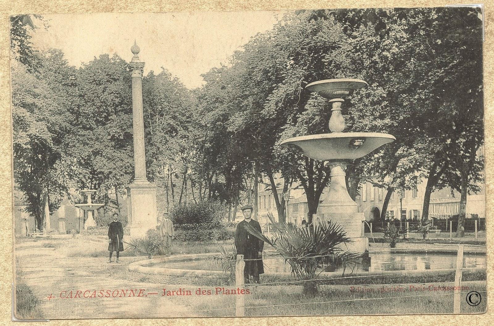 Histoire locale par henri alaux carcassonne le jardin for Le jardin carcassonne