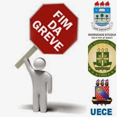 A greve acabou! Universidades estaduais do Ceará anunciam retorno.