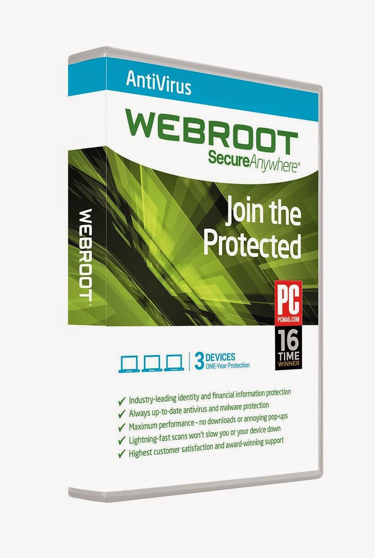 Webroot AntiVirus 2015 idéal pour PC et MAC