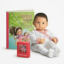 Congrats to Shelly D, our WINNER ($80 value) American Girl Bitty Baby Doll out of 3,760 entries!