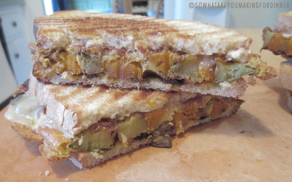 Roasted Butternut Squash Panini Recipe — Dishmaps