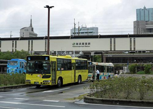 Kaihin-Makuhari Station, Chiba Prefecture, Japan.
