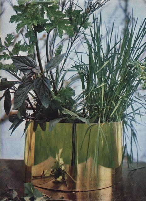 vintage 1965 tray plant modern moderne cache pot années 60 1960 70s 60s design