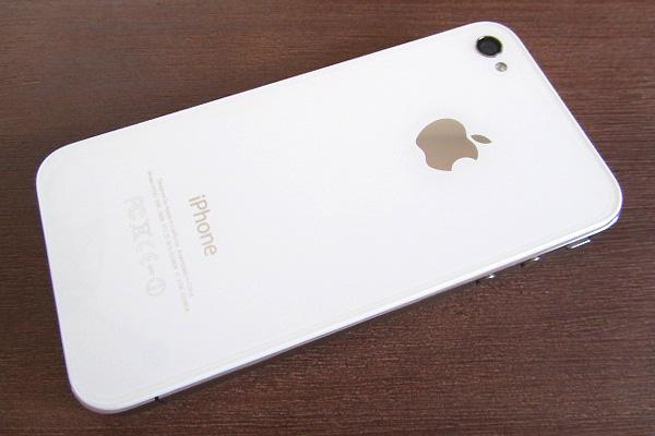 iPhone 4 weiß Rückseite