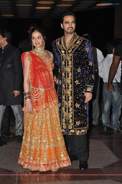 Esha Deol at Reception