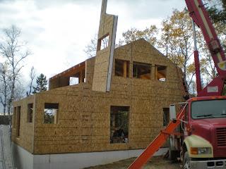 Timber frame, Ely MN, john huisman