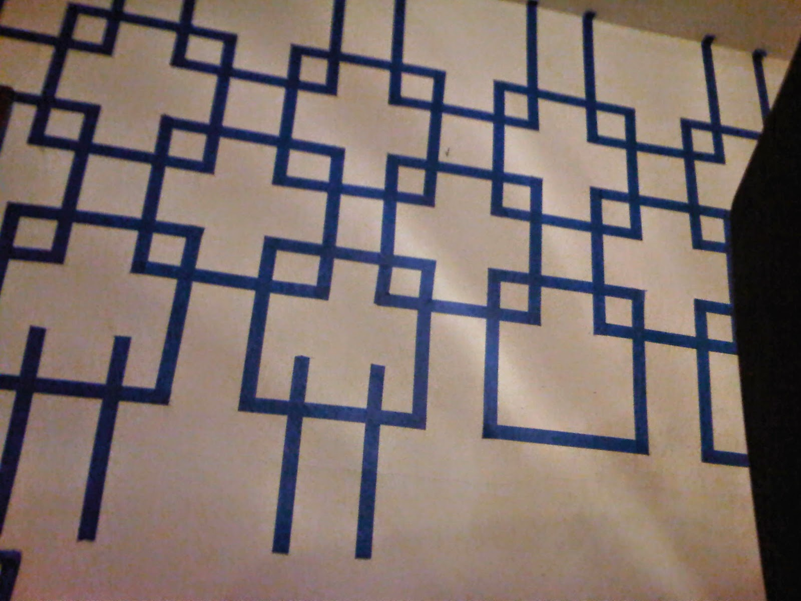wall designs with painters tape 2014