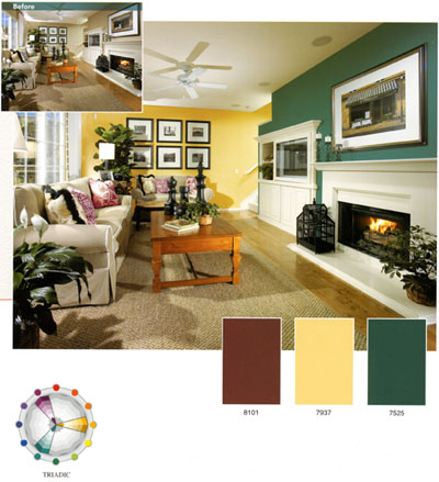Foundation dezin decor lesoon 7 colors types of color scheme for Color palette for interior design