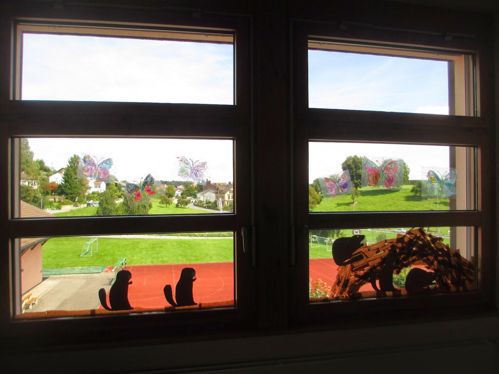Kindergarten Fensterdeko