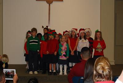 Montgomery Catholic Elementary Campuses Celebrate Christmas 3