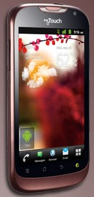 T-Mobile myTouch Front