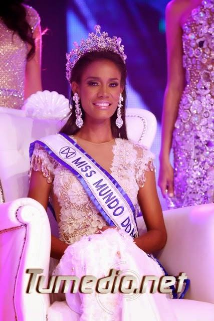 Miss Mundo Republica Dominicana World Dominican Republic 2014 Dhio Angelica Moreno Santos