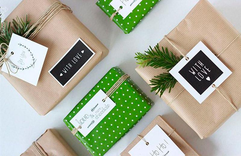 Como criar um embrulho de presente lindo e fácil usando o que você já tem em casa!
