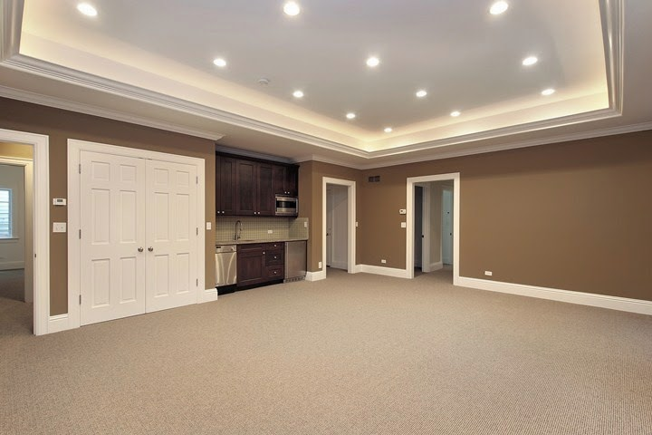 best paint color for finished basement