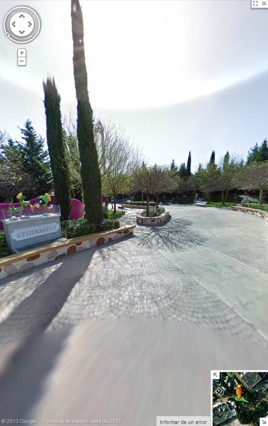 Dentro de Parque Warner Madrid