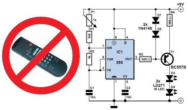 Remote -Circuit Diagram