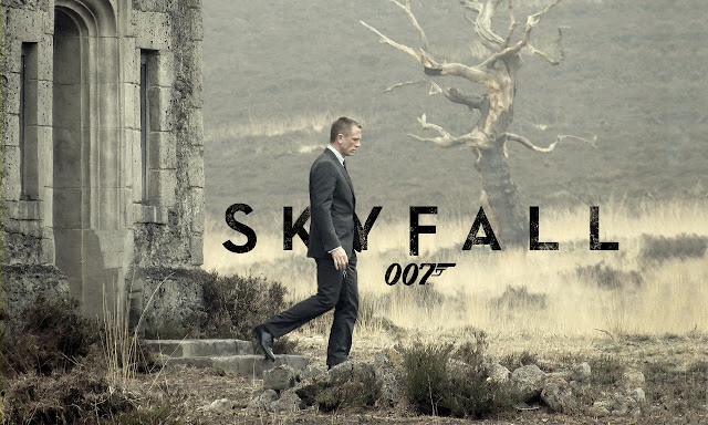 Skyfall PowerPoint background 08