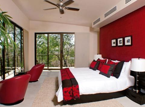 Mi casa mi hogar dormitorios matrimoniales en rojo for Dormitorio granate