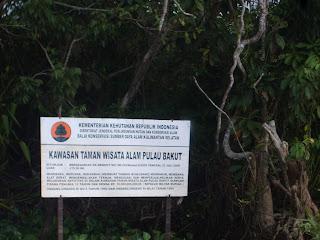 objek wisata alam pulau bakut