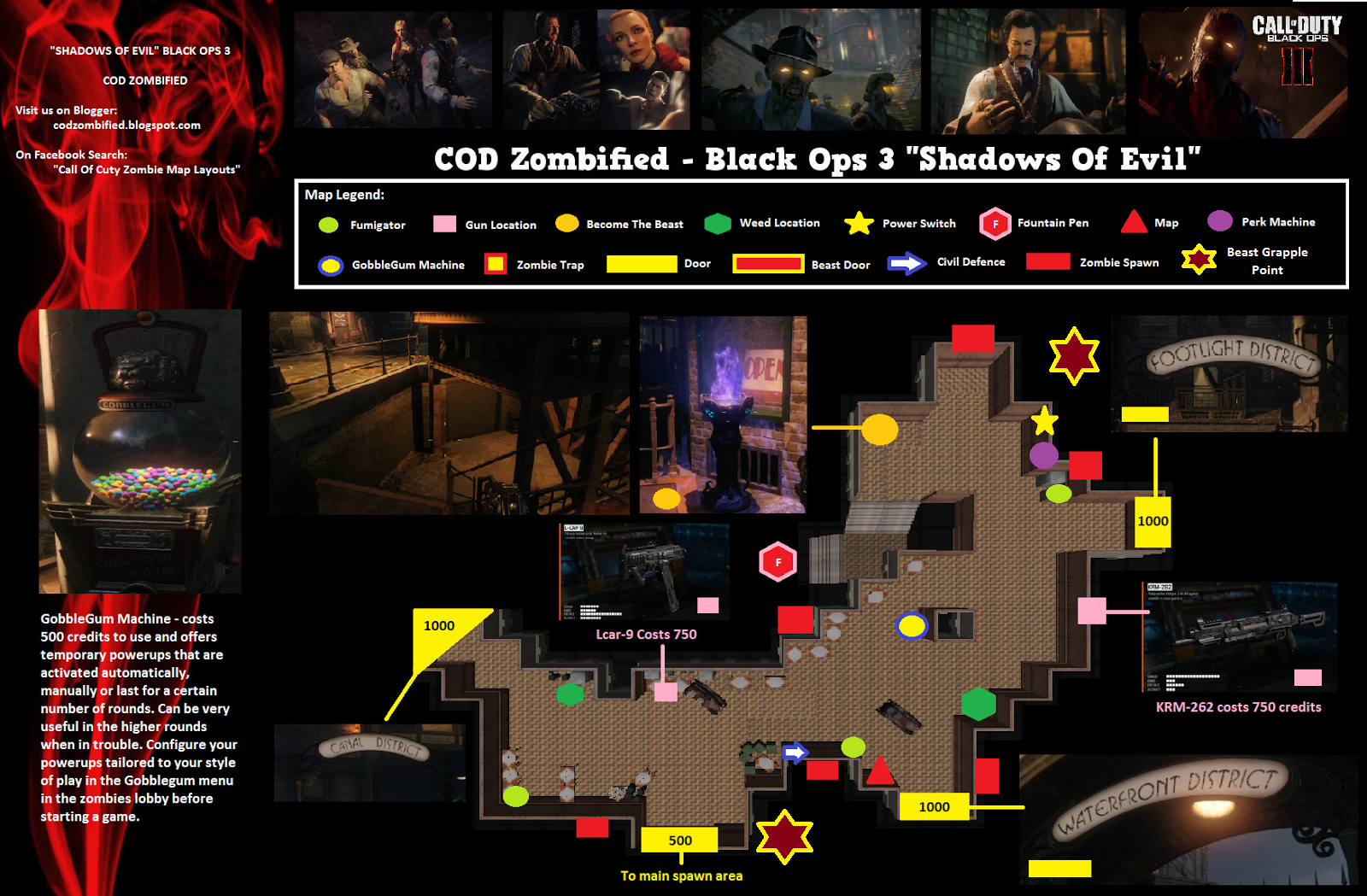 Black Ops 3 Zombies Maps