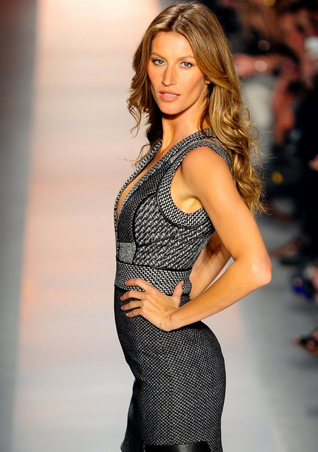 Model Gisele Bundchen Fashion