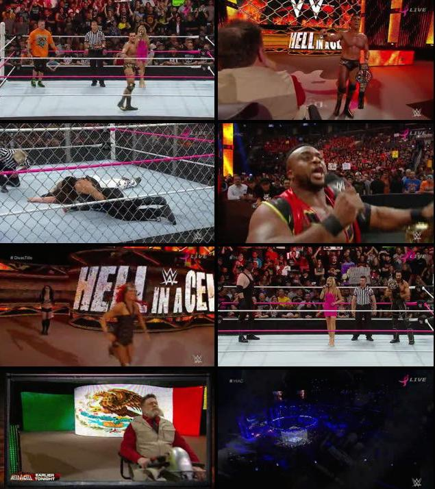 WWE Hell In A Cell 2015 PPV WEBRip 480p